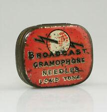 BROADCAST 'Loud Tone' Gramophone Needle Tin (SZ94)