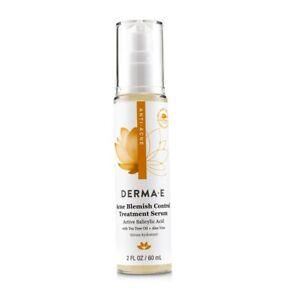 NEW Derma E Anti-Acne Acne Blemish Control Treatment Serum 60ml Womens Skin Care