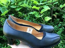 Slip Grip  Shoes For Crews High Heels Mary Janes Wedges Womens Size 7 Wide