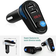 Doppel USB 5V Car Ladegerät Bluetooth Freisprecheinrichtung Musik FM Transmitter