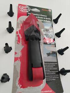 Red Devil #4052 Caulk Devil, Caulk Smoother & Remover - Plus 8 Generic Tips NIP