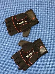 Mens Reebok Lifting Gloves Crossfit Weight Lifting Gloves Black NEW