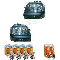 Scheinwerfer Set Fiat Doblo Bj. 01-05 Carello H1+H1+H7 inkl. PHILIPS Lampen 8GW