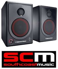 Cerwin Vega XD5 Active Studio Desktop Speaker Monitors Pair Monitor Speakers