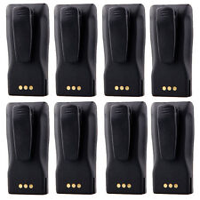 8X Battery for Motorola Radio CP040 CP140 CP160 CP180 CP360 as NNTN4496/NNTN4497