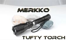 Merkko Tufty Torch®  Carp Fishing Original Red Flashlight LED Rechargeable