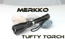 Tufty Torch Carp Fishing Red Flashlight CREE LED Rechargeable -  Merkko LED
