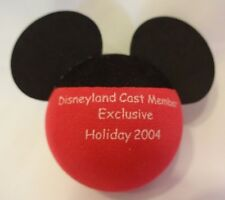 "Disney Antenna Topper ""Disneyland Cast Member Exclusive Holiday 2004"" Red/Black"