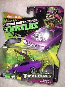 T-Machines Donnie In Speed Demon 2015 Playmates Toys TMNT Nick Ninja Turtles