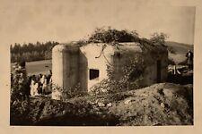 Foto, Sudetenland, Tschechien, Bunker, Panzer, aus Fotoalbum