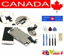 New White iPhone 5S LCD Touch Screen Digitizer Replacement Home Button Camera CA