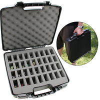 CM Hard Shell Miniature Storage Travel Case for 36 D&D Figurines and More