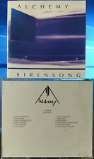 Alchemy - Sirensong (CD, 1993, No Fixed Address, Canadian Indie) EXTREMELY RARE