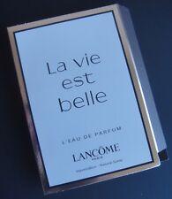 LANCOME La Vie Est Belle Eau de Parfum Natural Spray .05 oz New on Card