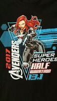 The Avengers/Disney 2017 Super Heroes Half Marathon Large Black Champion Shirt