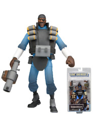 "NECA Team Fortress 2 BLUE The Demoman Action Figure, 7"" NIB Free Shipping"