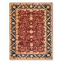 "8'10"" x 11'8"" Hand Knotted Peshawar Chobi 100% Wool Oriental Area Rug Rust"