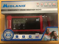 Midland ER210 E+Ready Compact Emergency Crank Radio NOAA Ready. Many Features.