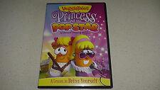 veggietales princess and the pop star ( popstar ) rare REGION 2