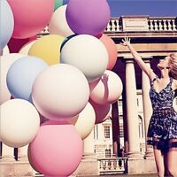 36 Inch Jumbo Super Large Giant Round Latex Balloons for Wedding Birthday Party