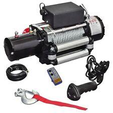13000lb Electric Recovery Winch 12V ATV Car Truck Trailer Tow Roller Fairlead
