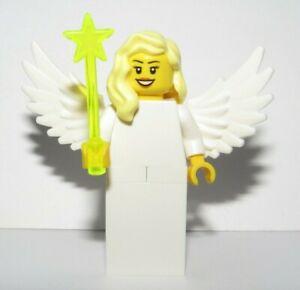 LEGO Female Girl Minifigure White Christmas Fairy Angel Advent Stocking Filler