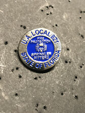 UA PLUMBERS PIPEFITTERS STEAMFITTERS  UNION LOCAL 821 Lapel Pin