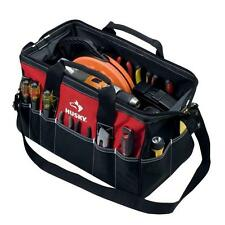 Husky 18'' Work Tool Bag Handyman Contractor Repairman Plumber Storage Tote NEW