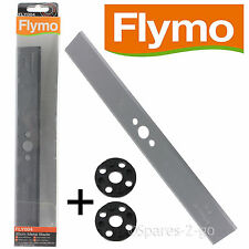FLYMO Lawnmower Hover Compact 300 30cm Blade FLY004 & Spacer Washer FLY017