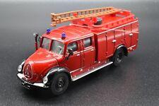 Magirus Camion-citerne Incendie Pompier de chez Siku n°4115 Ech.1/50e