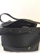 9fb10e1779 Auth CELINE Black leather RING Bag Size M - BORSA SAC