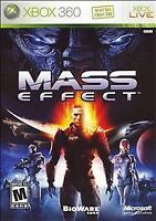 Mass Effect (Microsoft Xbox 360, 2007) DISC ONLY