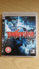 Wolfenstein Game for Sony PlayStation 3 - PS3 - PAL - Very Good Condition