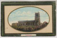 Lancashire postcard - Rochdale, Parish Church - RP