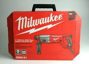 "*Milwaukee 5262-21 1"" Inch SDS Plus Rotary Hammer Kit"