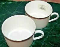 Kate Spade New York coffee tea Lenox Library Lane Coral 2 Cups 6 oz Replacement