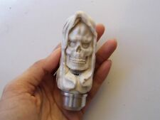 Grim Reaper Gear Shift Knob Handle Transmission Fr Deer Antler Carving_c