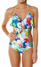 Polyester Hand-wash Only One-Piece Swimwear for Women