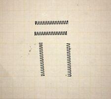 4 x Druckfeder,  Länge 29mm, Außen Ø3,52mm, Drahtstärke 0,32mm