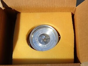 SALEM BAROMETER GERMANY SHIP WHEEL STYLE SUPER CLEAN UNUSED UNTOUCHED