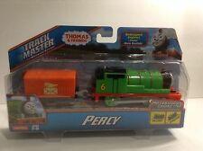 "Thomas & Friends Track Master Motorized ""Percy and Car"" NIB"
