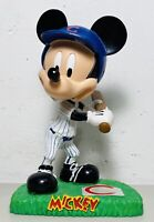 Mickey Mouse Chicago Cubs Baseball Bobblehead Figure Display MLB Clean UP Mickey