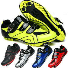 MTB Cycling Shoes Mens Outdoor Mountain Bicycle Sneakers Self-Locking Bike Shoes
