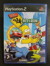 The Simpsons Hit & Run PS2 Play Station 2 PAL Testato Completo