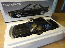 Autoart BMW 635 CSI   Metallic grau-grün   NEU + OVP   1:18     Rarität