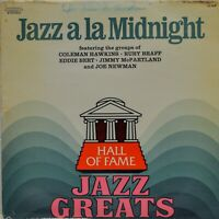 """Jazz a la Midnight"" Hall of Fame Jazz Greats Vinyl LP [JG608]"