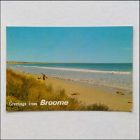 Greetings from Broome Cable Beach WA 1984 Postcard (P362)