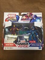Marvel Vs. Capcom Gamer Verse Iron Man Mega Man X Hasbro