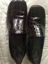 """White Mountain """"Mallory Shoes"""" Brown Leather Loafers Size 7 Medium"""