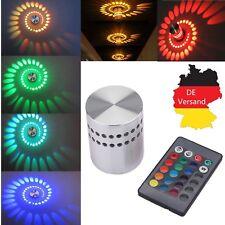 RGB 3W LED Effektlicht Wandlampe Wandleuchte Flurlampe Deckenlampe Deckenleuchte